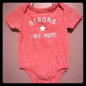 "Well worn ""strong like mom"""